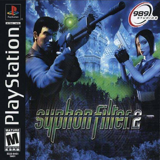 Playstation 1 Game Cover Image
